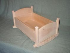 Doll Cradle - Large. $40.00, via Etsy.