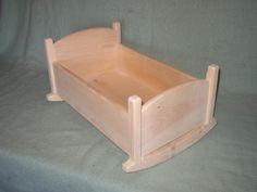 Doll Cradle - Large. $40.00, via Etsy.