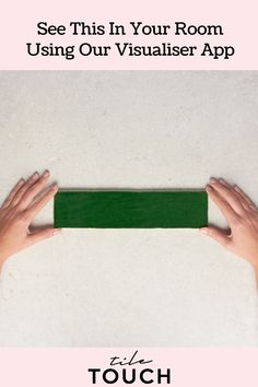 Code: TT0152 Colour: Green Finish: Gloss Type: Tile Material: Ceramic Size: 75mm x 300mm Shape: Rectangle Look: Subway Pattern: Subway Thickness: 10mm Walls: Bathroom Walls, Kitchen Splashback, Feature Walls Origin: Made In Spain Green Subway Tile, Green Tiles, Subway Tiles, Visualizer App, Brick Bonds, Tiles Online, Splashback, Kitchen Tiles, Bathroom Wall