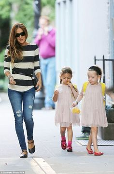 Sarah Jessica Parker is likely treasuring every moment she can with her adorable twin daughters as they enjoyed the daily school run in New York City