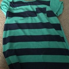 For Sale: Blue And Green Shirt  for $12