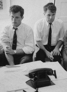 Teddy and Bobby Kennedy