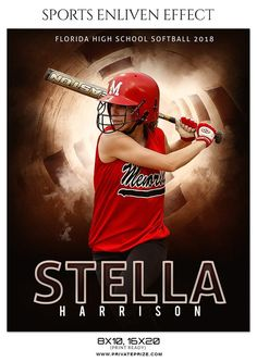 STELLA HARRISON-SOFTBALL- SPORTS ENLIVEN EFFECT