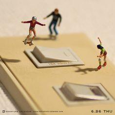 Designine: Miniature Calendar: é possível ser criativo até no Instagram