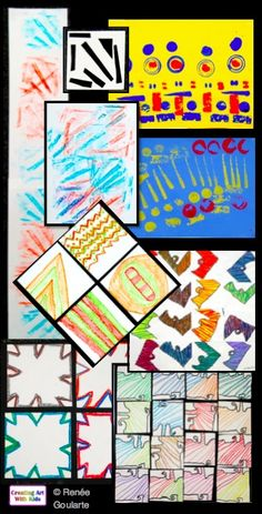 Integrate Art and Math with pattern art lessons. Easily differentiated for multiple grade levels. Includes art reflection worksheets and teacher resources.