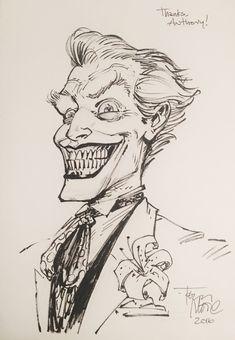 Joker by Tony Moore Comic Art