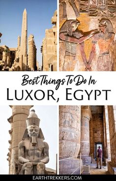 15 best things to do in Luxor, how much time do you need in Luxor, how to see the east bank and west bank, do you need a guide, where to stay and eat. Luxor Temple, Luxor Egypt, Pyramids Egypt, Egypt Travel, Africa Travel, Places To Travel, Places To See, Africa Destinations, Travel Destinations