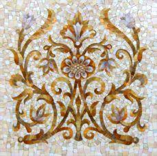Портфолио студии. Декорум из мозаики