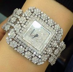 Diamond Watches Collection : Diamond watch - Watches Topia - Watches: Best Lists, Trends & the Latest Styles Elegant Watches, Stylish Watches, Luxury Watches, Amazing Watches, Beautiful Watches, Ring Watch, Bracelet Watch, Diamond Pendant Necklace, Diamond Jewelry