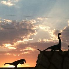 Dinosaur World. Glen Rose, Texas.