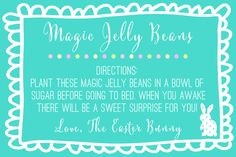 Easter - Magic Jelly Beans - BLUE
