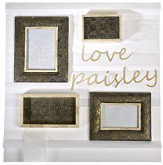 LOVE & PAISLEY #tiendasportico #homedecor