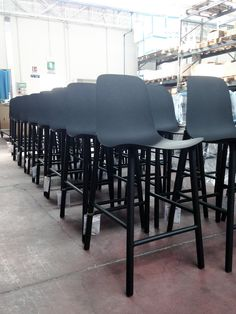 Our Sharky stools are ready to invade the world http://www.kristalia.it/design-chairs/aluminium-stool/