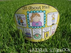 Bilingual Scrapbook: Headbands for every occasion {All about me, Labor Day, Grandparents Day, Fall, Columbus Day, Veterans Day, Thanksgiving, Winter, Christmas, New Year, Martin Luther King, Jr., Chinese New Year, Groundhog Day, Presidents Day, Valentine's Day, St. Patrick's Day, Spring, Easter, Earth Day, Cinco de Mayo, Mother's Day, and Summer} Coloring and/or subway art plus writing option.