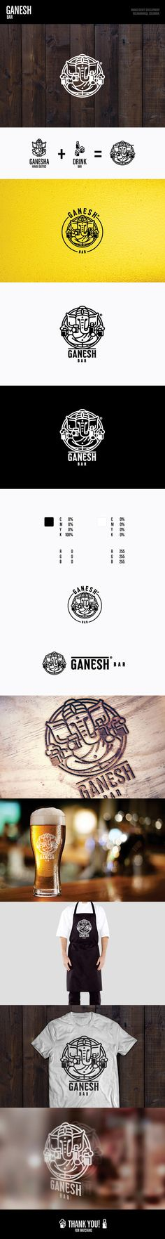 Logo Ganesh Bar on Behance
