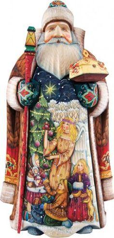 900 Santa Claus Figurines Shop Ideas Santa Santa Claus Figurines