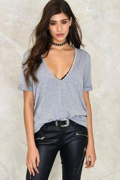 7ba82c4de Riley Scoop Tee. Rocker ChicDistressed TeeT Shirts For WomenClothes ...