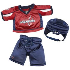 Capitals Build A Bear Outfit - Ahhh, yes! Kid Stuff, Stuff To Do, Custom Teddy Bear, Build A Bear Outfits, Hockey Stuff, Online Gift Shop, Washington Capitals, Man Cave, Bears