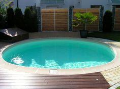 bildergebnis f r rundpool terrasse pool schwimmteich pinterest terrasse schwimmteich. Black Bedroom Furniture Sets. Home Design Ideas