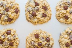 One-Bowl, No-Mixer, No-Chill Oatmeal Cookies