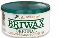 "If you have never used Briwax, you need to try it. You know how an old piece of wood furniture gets so much ""stuff"" on it. Briwax cleans and polishes it at the same time. The results are remarkable. 5 Star product!"