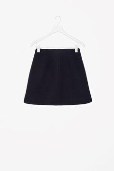 COS | A-line wool skirt