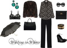 Who What Wear WORKING IN WINTER, created by anakral on Polyvore