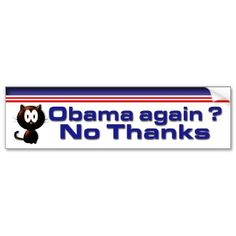 No Thanks Bumper Stickers