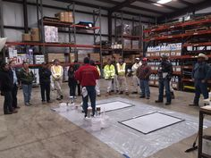 Metallic Epoxy DCS Demo Day - Buda Store.  Learn about decorative concrete!  #Metallics #DecorativeCS