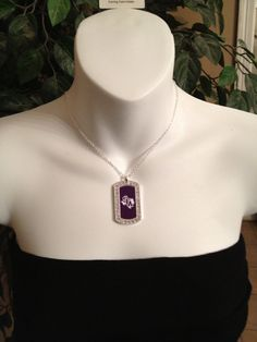 SFA charm necklace by Beckyschunkystuff on Etsy, $25.00