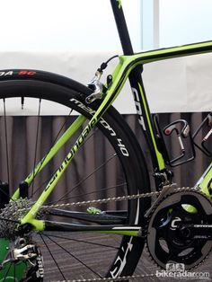 Pro bike: Peter Sagan's Cannondale Synapse Hi-Mod - The SAVE stays are wildly shaped to provide some give on bumpy surfaces. Our experience suggests they actually work, too