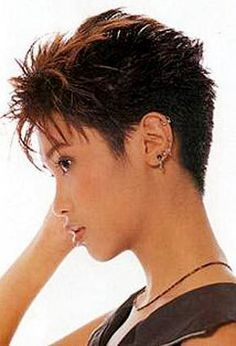 Today we have the most stylish 86 Cute Short Pixie Haircuts. We claim that you have never seen such elegant and eye-catching short hairstyles before. Pixie haircut, of course, offers a lot of options for the hair of the ladies'… Continue Reading → Short Spiky Hairstyles, Short Pixie Haircuts, Prom Hairstyles, Weave Hairstyles, Short Hair With Layers, Short Hair Cuts For Women, Short Cuts, Sassy Hair, Great Hair
