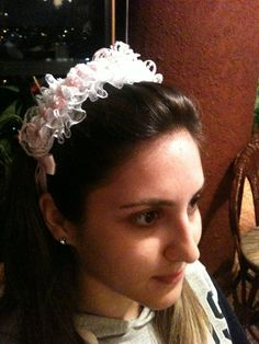 tiara rendada
