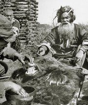 Iyomante, the Ainu Slain Bear festival. This ceremony was quite similar to the…