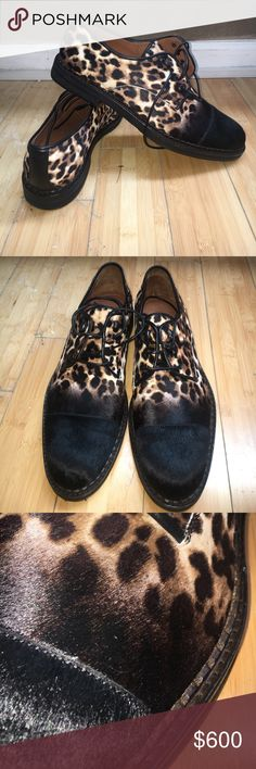 Jimmy choo Leopard  pony hair shoes 11.5 Jimmy choo Leopard  pony hair shoes 11.5 new unworn , pony hair material for a luxury look ,  leopard adds style , faded black says masculine   = a great shoe 👍 vibram shoe protector & shoe taps professionally added + 100 +  $895 msrp = $995 100% authentic & purchased from jimmy choo . No box Jimmy Choo Shoes Oxfords & Derbys
