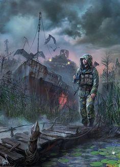 Post Apocalypse, Apocalypse World, Apocalypse Survival, Metro 2033, Cthulhu, Cyberpunk, Zombies, Post Apocalyptic Art, Fallout Art