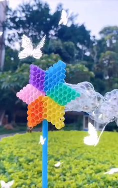 Hand Crafts For Kids, Craft Activities For Kids, Diy For Kids, Bubble Diy, Bubble Wands, Easy Paper Crafts, Fun Crafts, Diy And Crafts, Diy Crafts Hacks