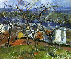 Landscape near Chatou - Andre Derain