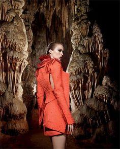Top model Raquel Zimmermann caverna do Diabo em Eldorado-SP - Brasil