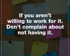 Inspirational Quotes about life Positive Sayings Don't Complain #LifeQuotesThatILove