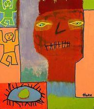 SUN RA Hoke Outsider RAW Folk Abstract Art Brut Painting  Naive Grafitti VISION