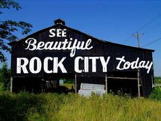 Rock City Barns ... they have been vanishing .... to be replaced by subdivisons and strip-malls