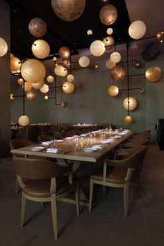 The Pump Room in Chicago... amazing brunch - highly recommend! Re-design is stunning with the light installations & the old photography thankfully remains.