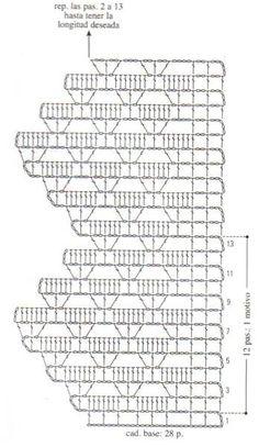 Kira scheme crochet: Scheme crochet no. 2466