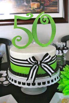 Simple 50th birthday ideas