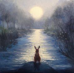 Isabella & the Moon ~ David Joaquin