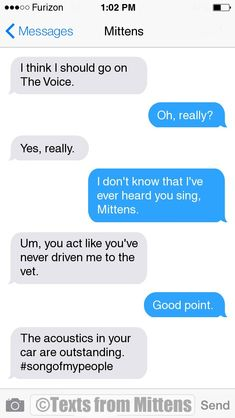 Texts from Mittens Dog Texts, Funny Texts, Text From Mittens, Cat Text, Text Fails, Funny Text Messages, Cat Health, Funny Pictures, Funny Pics