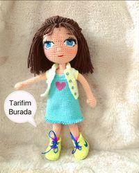 Crochet mm Head lı magic ring double forcepins one, 1 . Crochet Disney, Crochet Baby, Free Crochet, Crochet Amigurumi Free Patterns, Knitted Dolls, Brick Stitch, Amigurumi Doll, Crochet Animals, Barbie