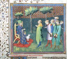 Livre de la chasse, MS M.1044 fol. 45v - Images from Medieval and Renaissance Manuscripts - The Morgan Library & Museum