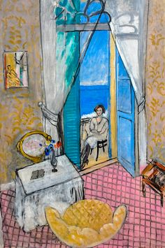 Henri Matisse -   Interior at Nice, 1920 at the Art Institute of Chicago IL
